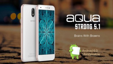 Photo of Intex Aqua Strong 5.1 with Android Marshmallow launched at Rs 5,599