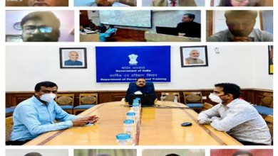 Photo of Union Minister DrJitendra Singh inaugurates IAS Professional Course Phase-II (2018 Batch) of LBSNAA through a video conference
