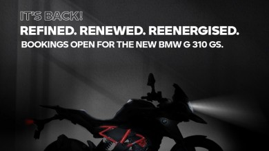 Photo of It's Back! Pre-Launch Bookings Start for the New BMW Motorrad G 310 R and the BMW G 310 GS