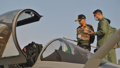 Photo of Chief of Army Staff Visits Ambala Cantonment
