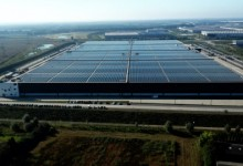 Photo of Installation Completed of the World's Most Powerful Solar Roof Currently Operating at PVH Europe's State-of-the-Art Warehouse and Logistics Center