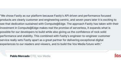 Photo of Fastly Ignites Developer Innovation On Compute@Edge with Extensive Tooling, Scalability, and Performance