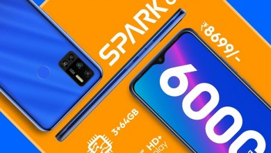 Photo of TECNO Set to Change the Game in Sub-9K Smartphone Segment with the New SPARK 6 Air Variant