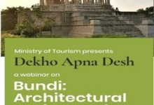 "Photo of Ministry of Tourism organisesa webinar on ""Bundi: Architectural Heritage of a Forgotten Rajput Capital"" under Dekho Apna Desh Webinar Series"