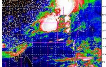 Photo of Depression over northwest Bay of Bengal off West Bengal – Bangladesh coasts