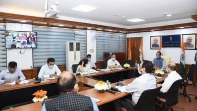 Photo of Mukhtar Abbas Naqvi holds Haj 2021 review meeting