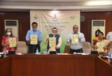 Photo of Sh. Santosh Gangwar releases revised  Consumer Price Index for Industrial Workers (CPI-IW) based on new series  2016=100 from the existing 2001=100