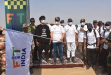 Photo of Union Sports Minister Shri Kiren Rijiju flags off 200-km long 'Fit India Walkathon'