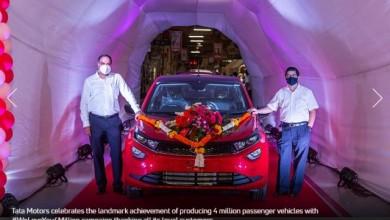 Photo of Tata Motors Achieves the Milestone of Producing 4 Million Passenger Vehicles